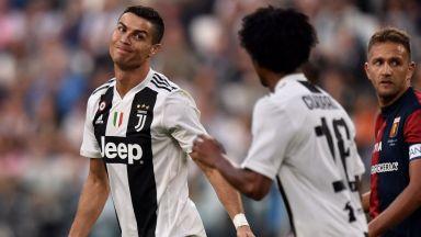 Роналдо си отдъхна, УЕФА обяви наказанието му
