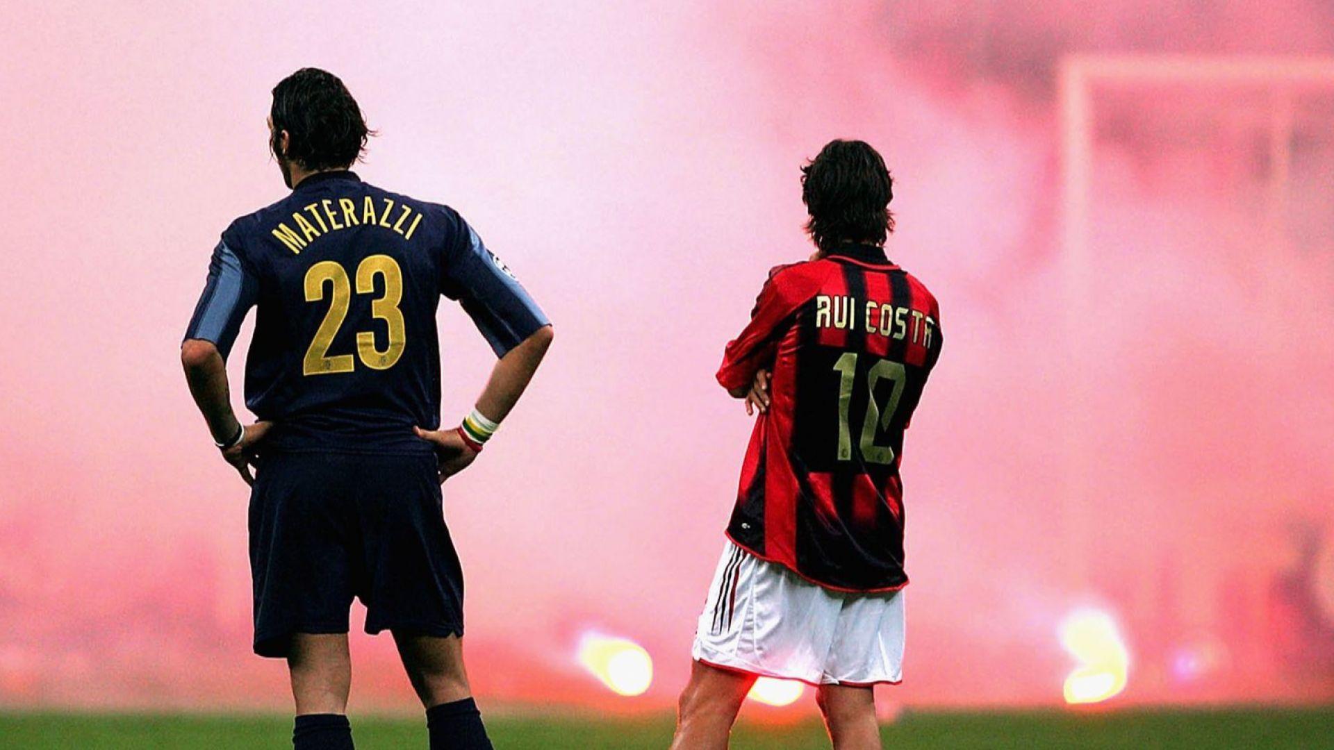 В името на Меаца, Дева Мария и за градската чест: Милан срещу Интер