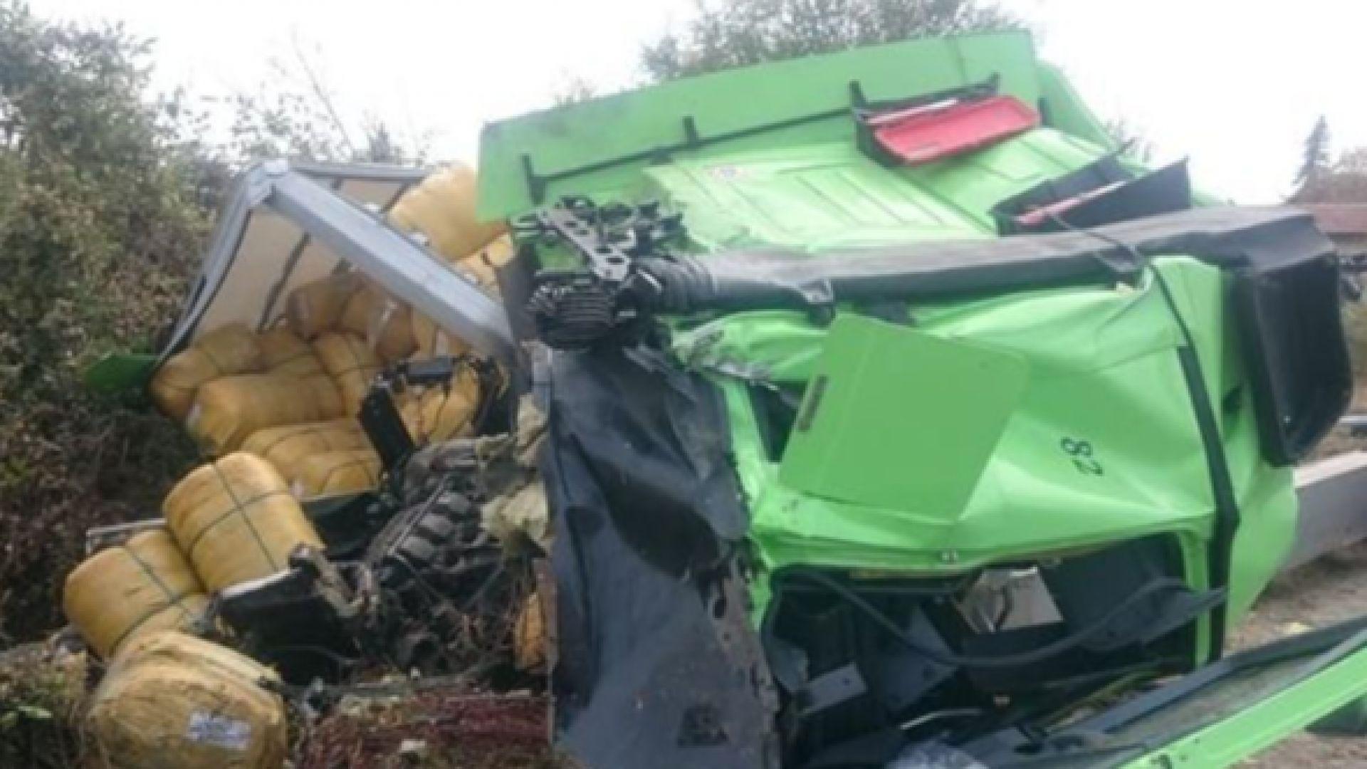 Пътен инцидент е станал на Околовръстен път на София преди