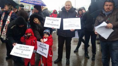 """Протест"""" блокираха Цариградско"""", """"Самоковско шосе"""" и Околовръстното* на София"""