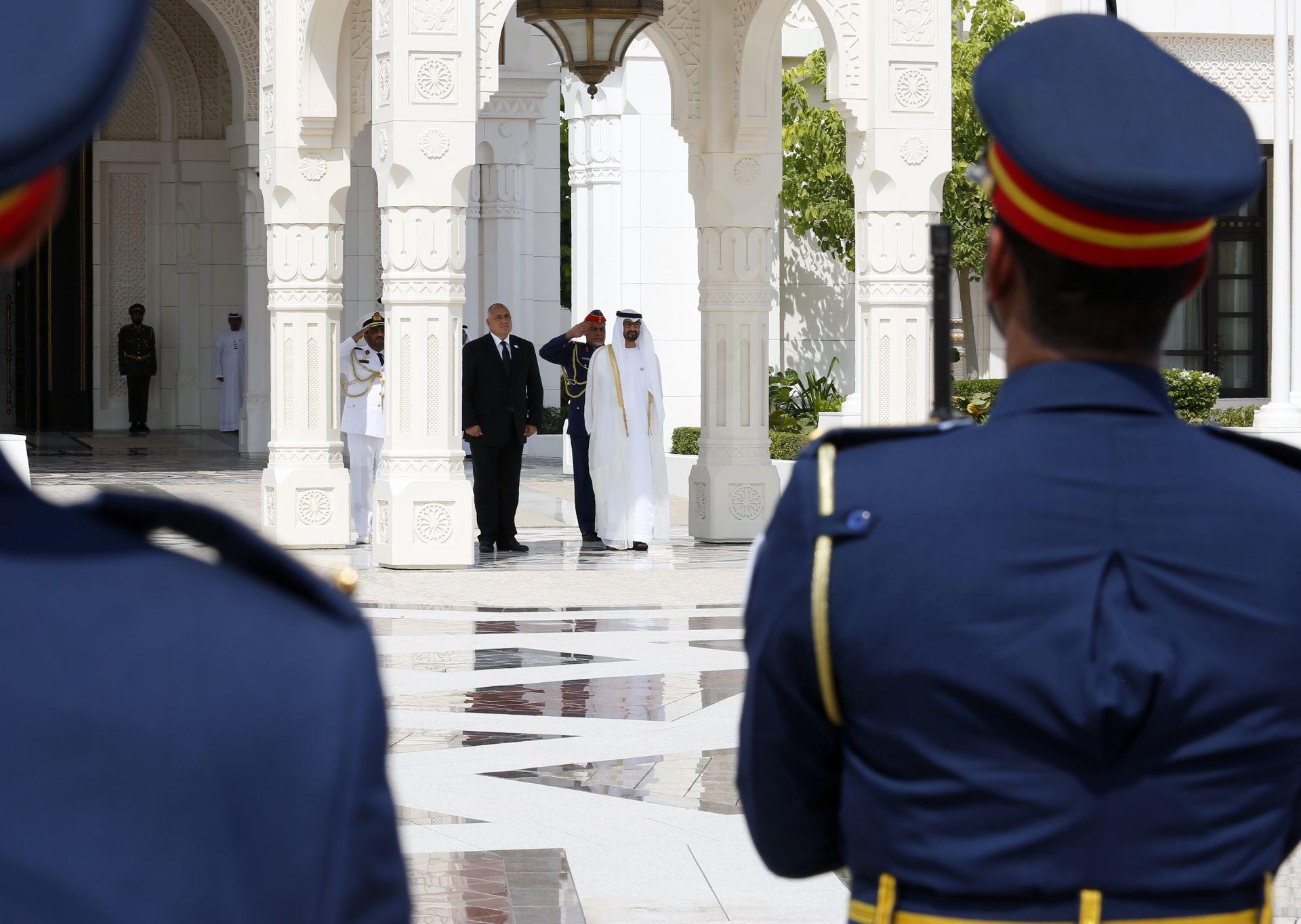 Премиерът се срещна с престолонаследника на Абу Даби
