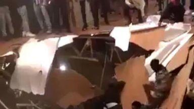Купон срути под в къща до университет в САЩ, 30 са ранени (видео)