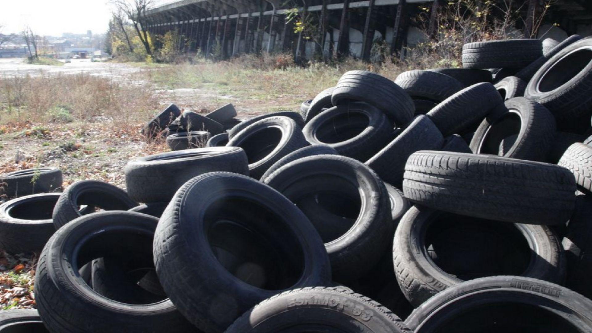 Руснаци добиват метилов спирт от стари гуми