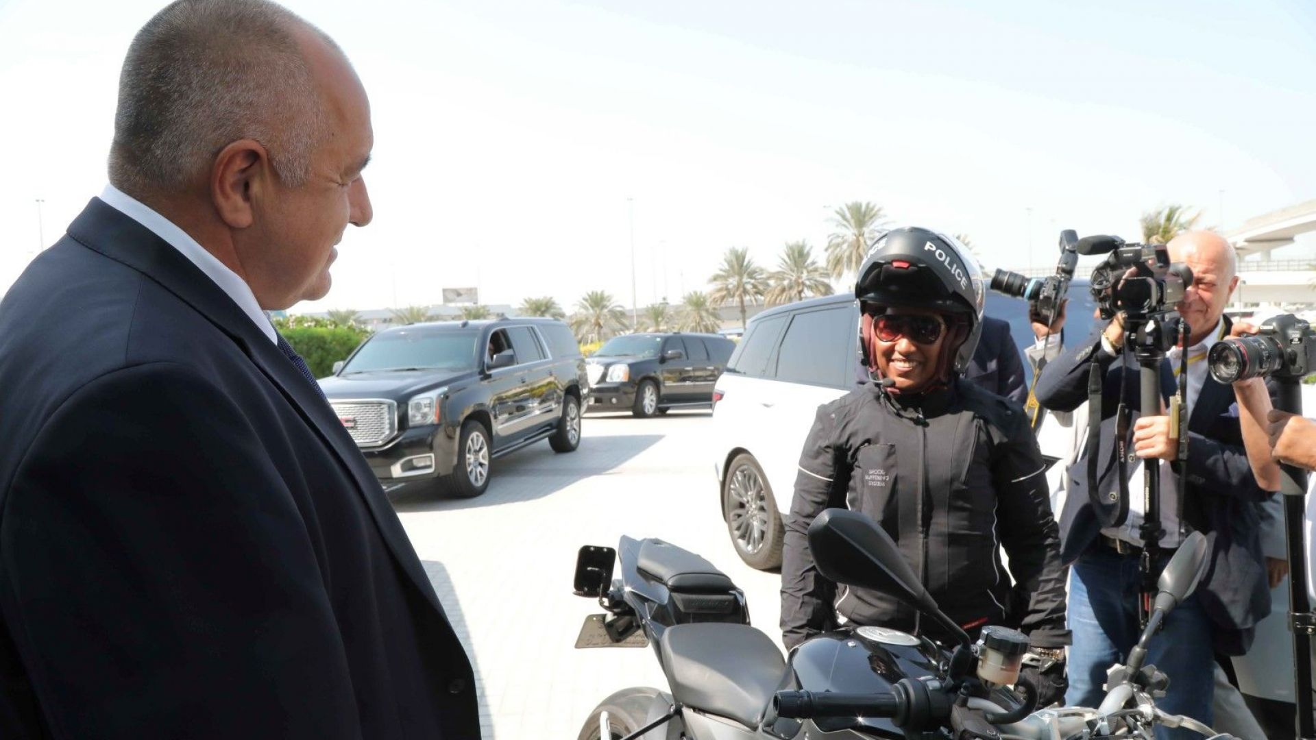 Министър-председателят Бойко Борисов посети Центърът по операциите на полицията в