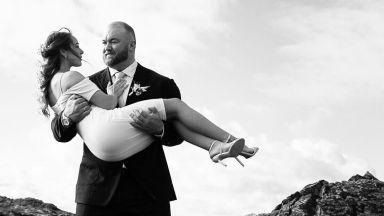 """Тор """"Планината"""" Бьорнсон от """"Игра на тронове"""" се ожени (снимки)"""