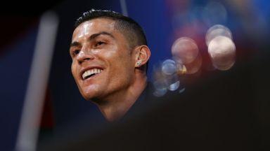 Роналдо проговори за обвиненията на странна пресконференция