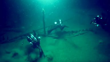 Най-старият кораб е намерен на дъното на Черно море, недалеч от българския бряг