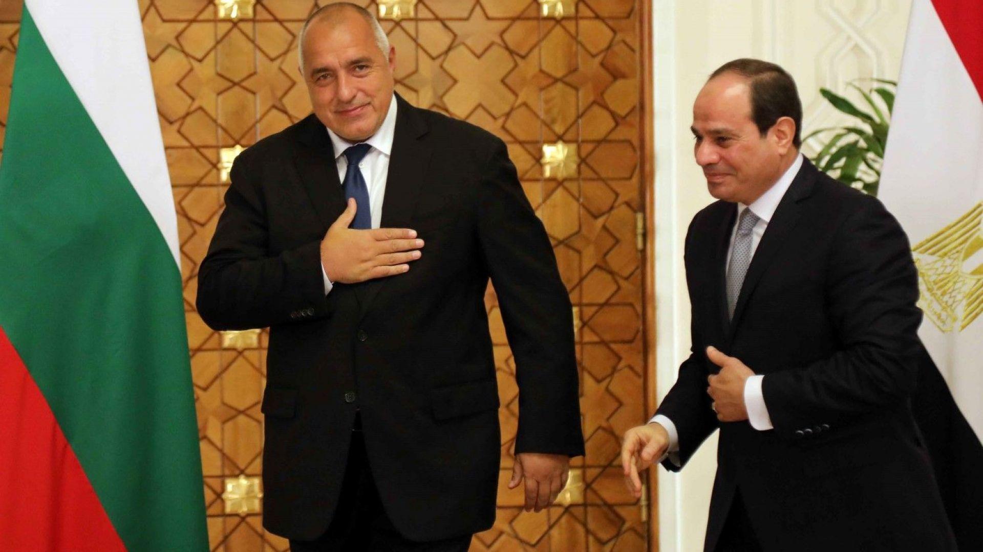 Борисов: Египет е сред стабилните търговски партньори