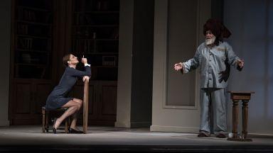 Диана Добрева, Иван Пантелеев и Мариус Куркински в Народния театър през новия сезон