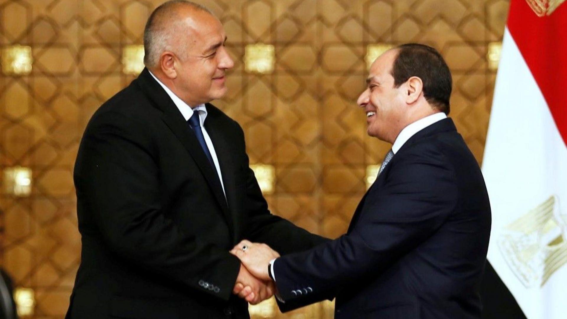 Борисов и Абдел Фаттах Ас-Сиси обсъдиха сферата на сигурността