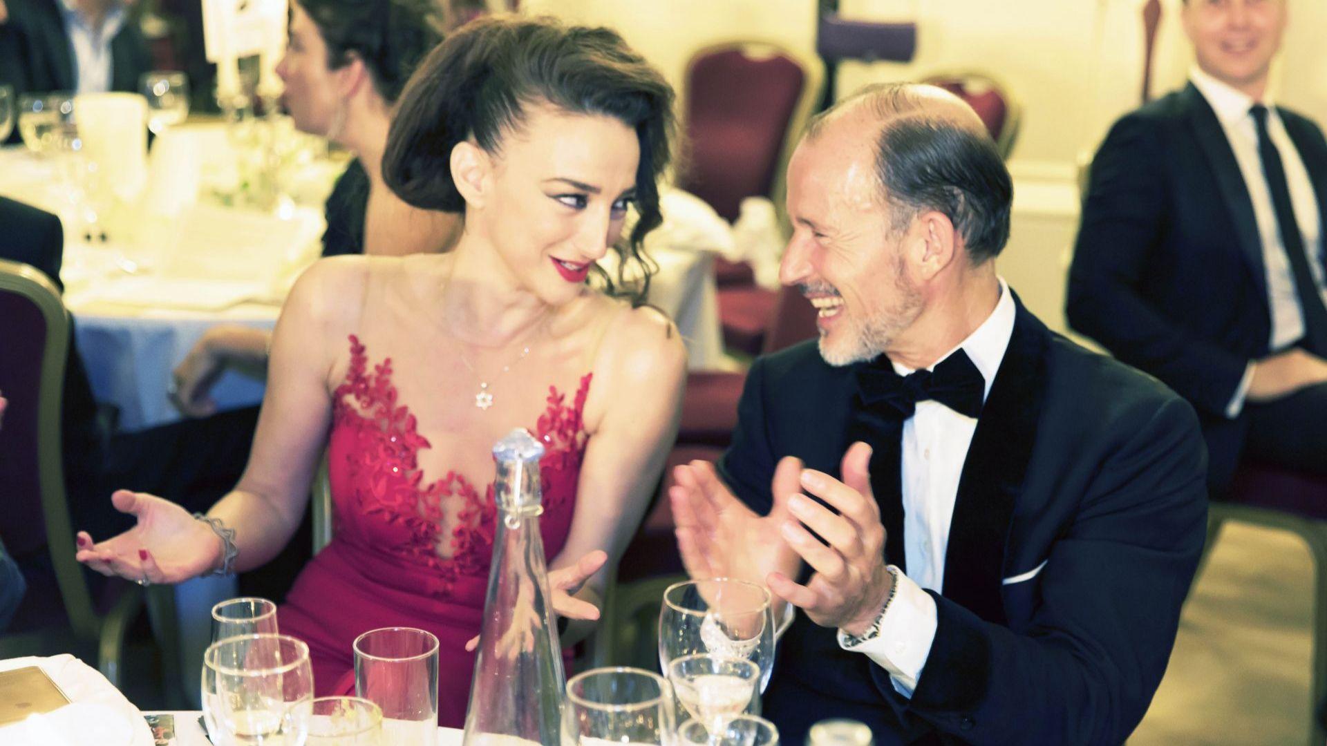 """Принц Кирил и Деси Тенекеджиева отново на Благотворителния бал на фондация """"Стоян Камбарев"""" в Лондон"""