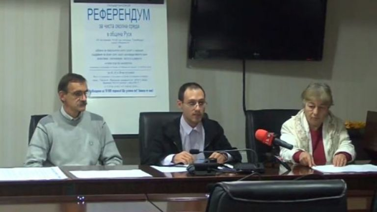 В Русе тръгва подписка за референдум за чиста околна среда