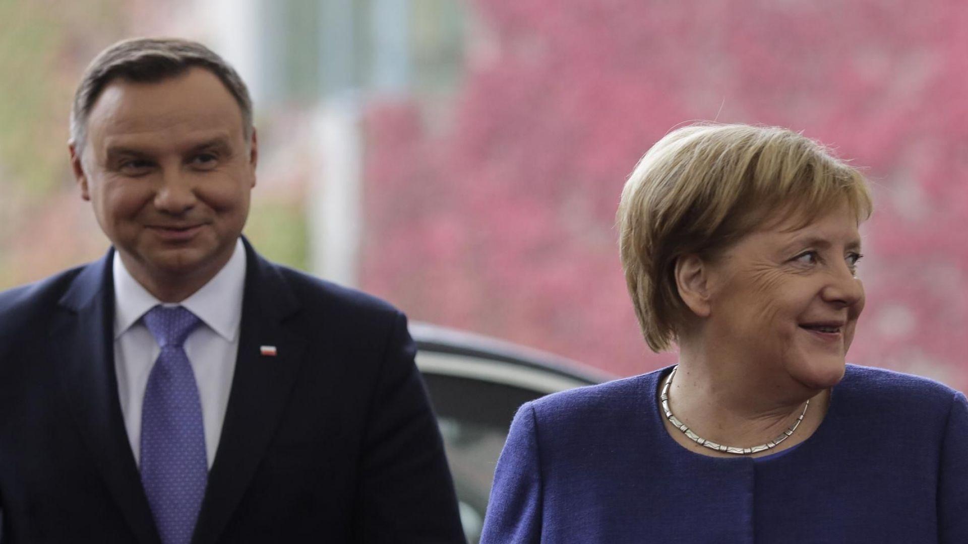 """Полша предложи на Германия алтернатива на """"Северен поток-2"""""""