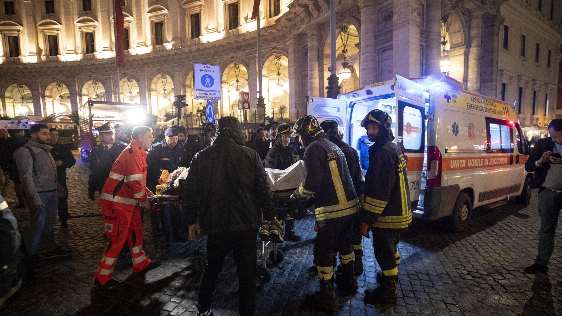 Десетки ранени при инцидент с ескалатор в метрото на Рим