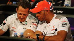 Бивш съотборник на Шумахер: Михаел работеше по-здраво, а Хамилтън е по-талантлив