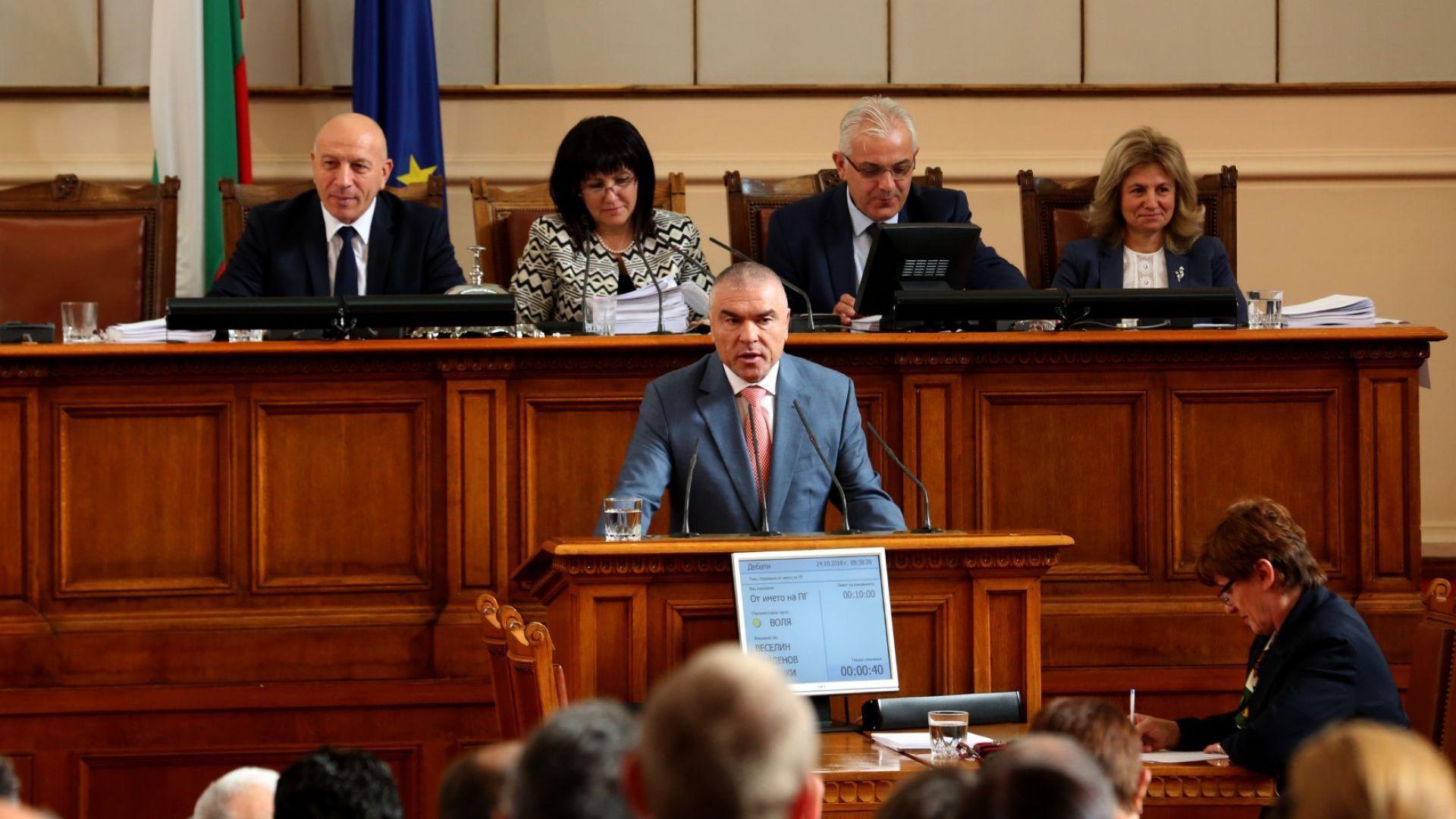 Марешки: Каракачанов преговаря с БСП и ДПС за ново правителство