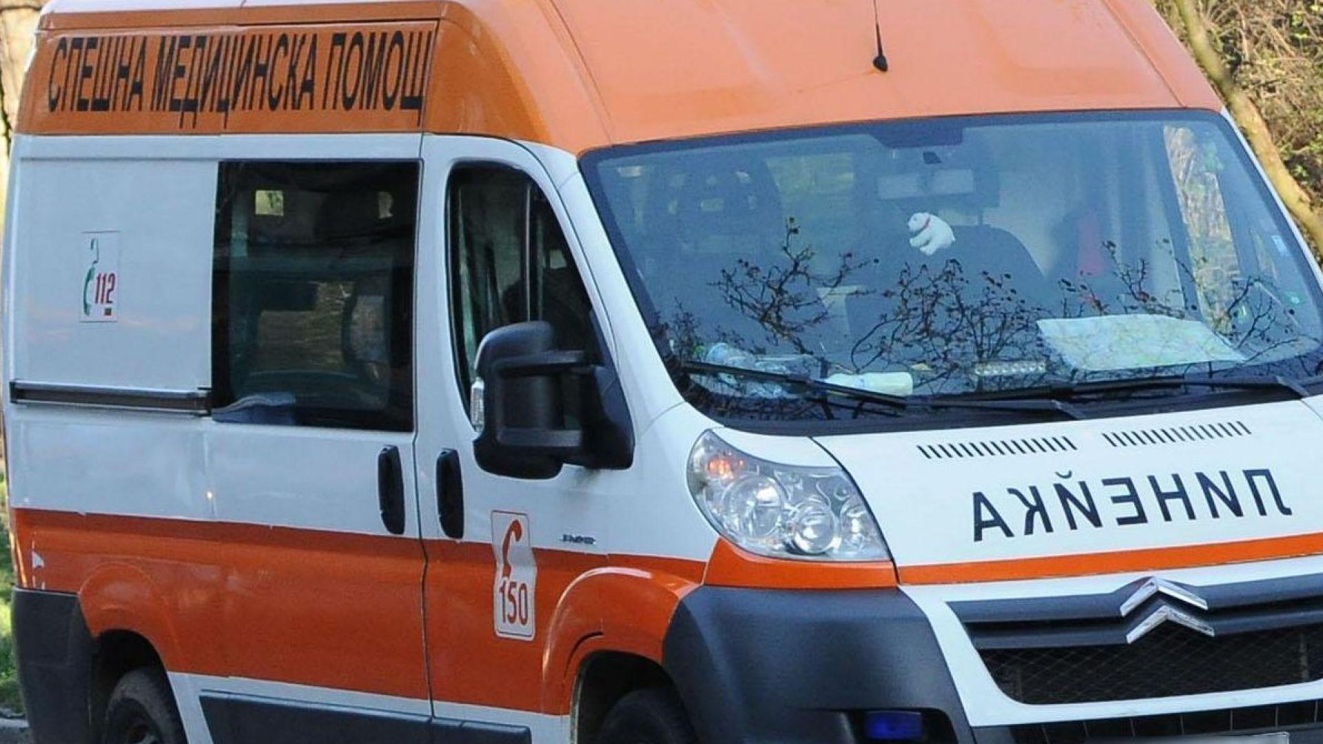 Петима пътници пострадаха при рязко спиране на автобус