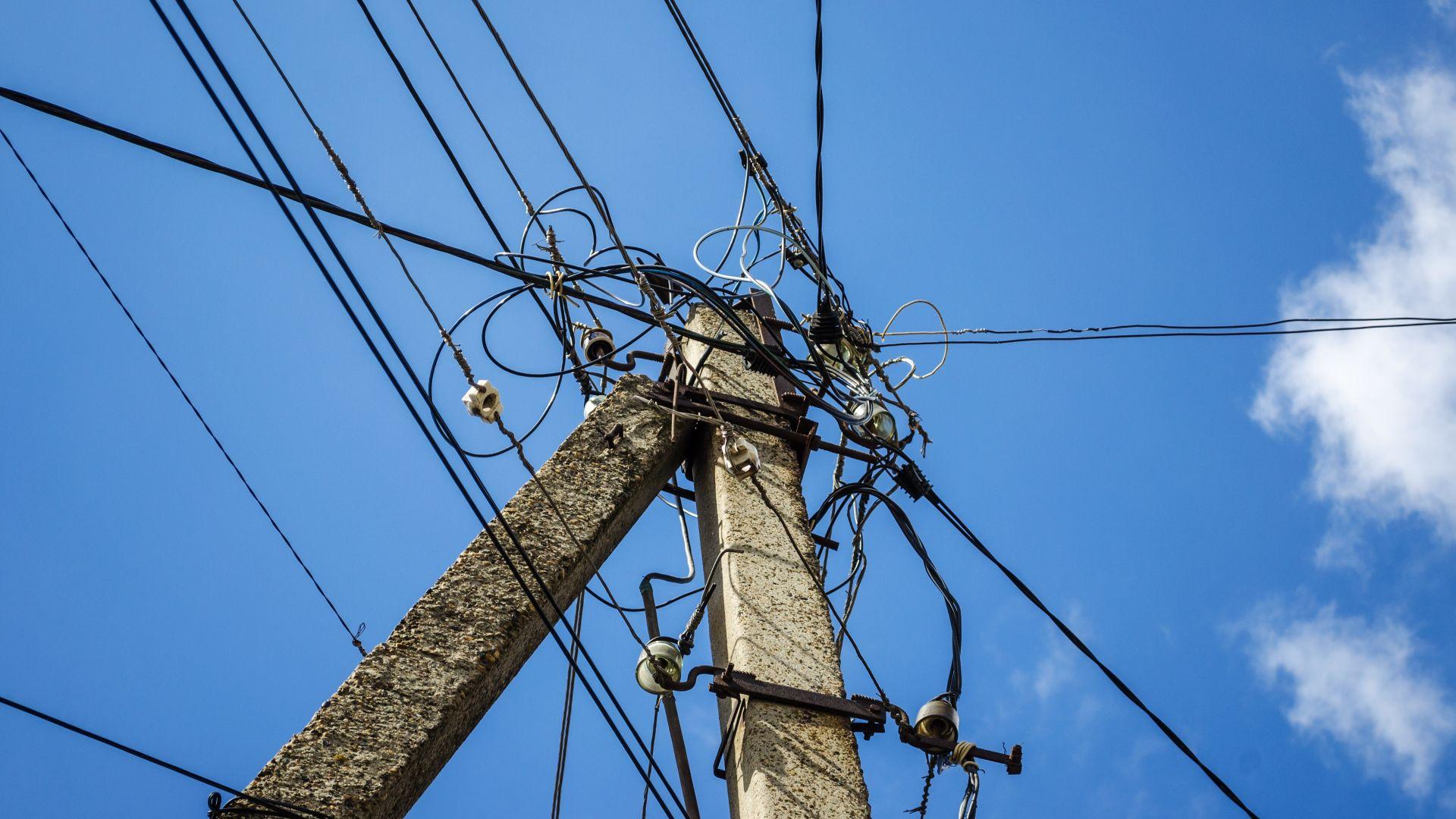 Строителна фирма спря тока в Горна баня и Суходол