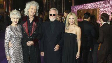 Queen на премиерата на биографичния филм за Фреди (снимки)