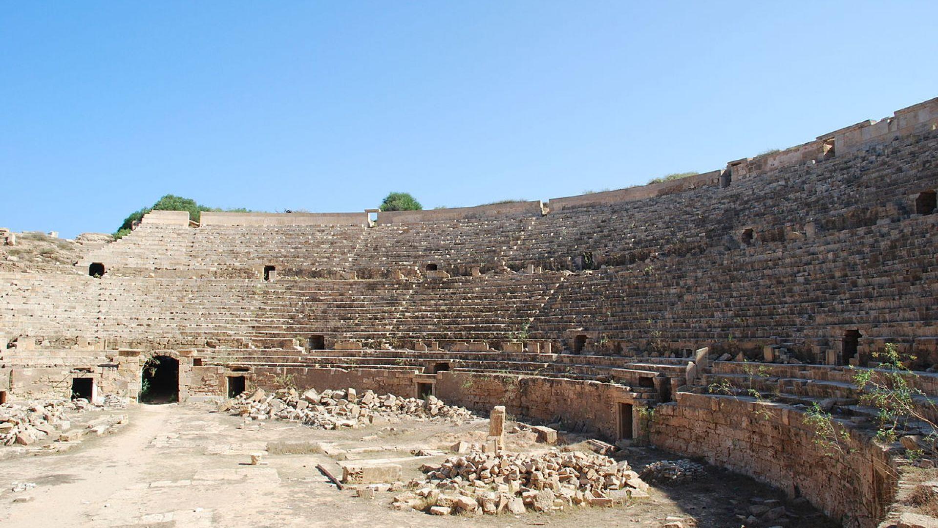 Вандализъм и немарливост съсипват безценни археологически обекти в Либия