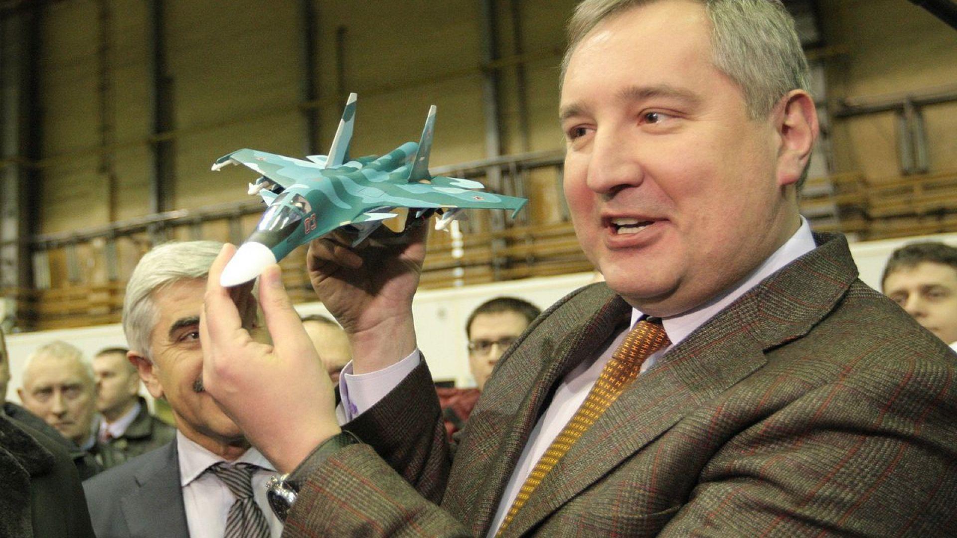 Рогозин не останал впечатлен от революционния кораб на SpaceX