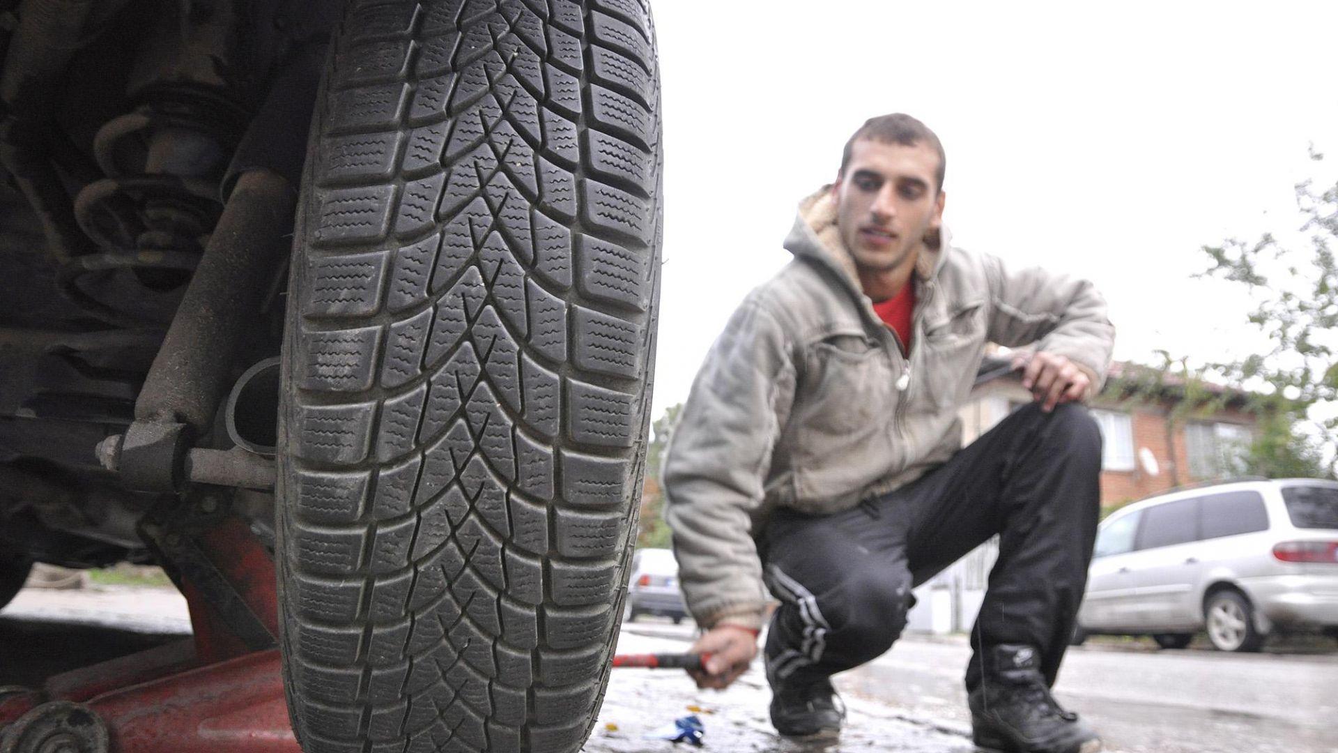 От 15 ноември задължително със зимни гуми