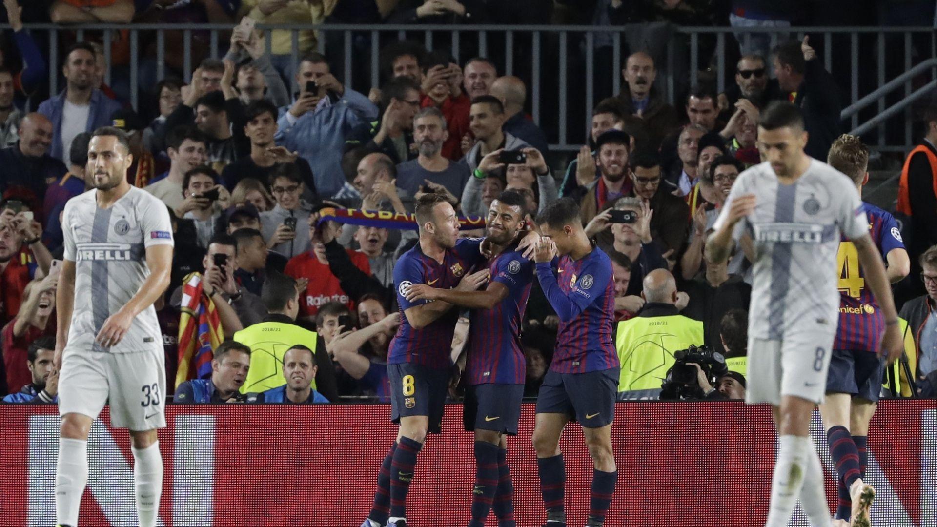 Барселона показа, че може и без контузения Меси