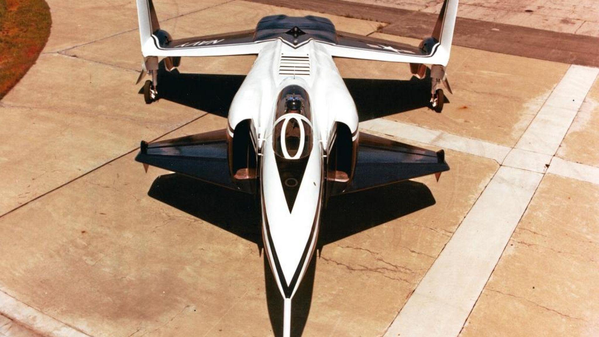 Неуспешната американска версия на F-35 от времето на Студената война