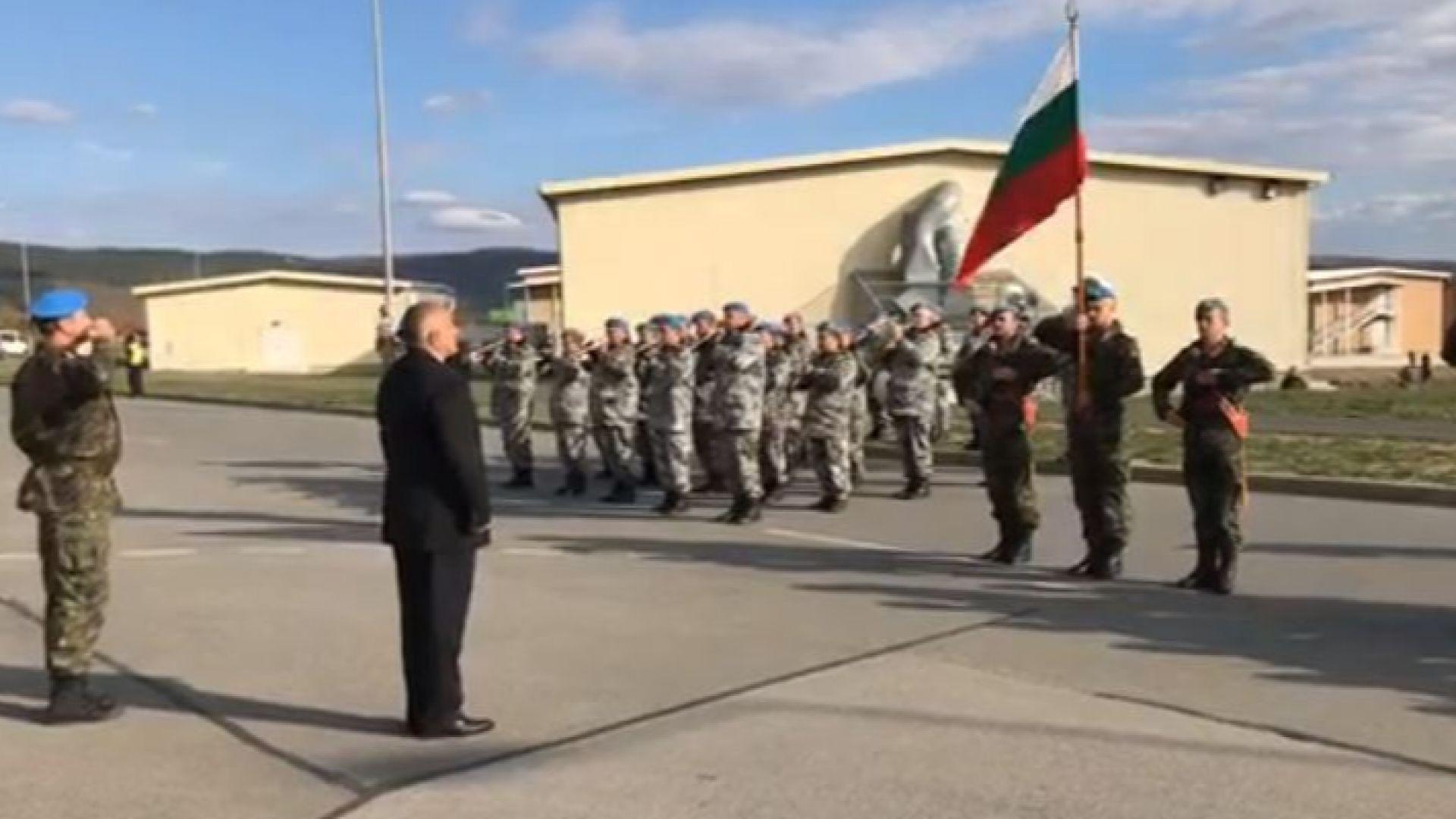 """Борисов прие строя на учение """"Thracian Sword - 2018"""" (видео)"""