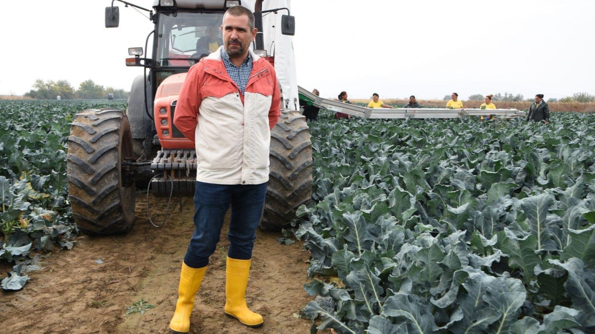 Ивайло Малджански, малък земеделски производител от района на Пловдив