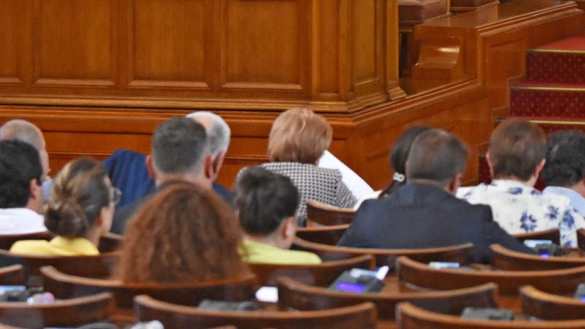 Депутати от всички групи подкрепиха Закон за хората с увреждания