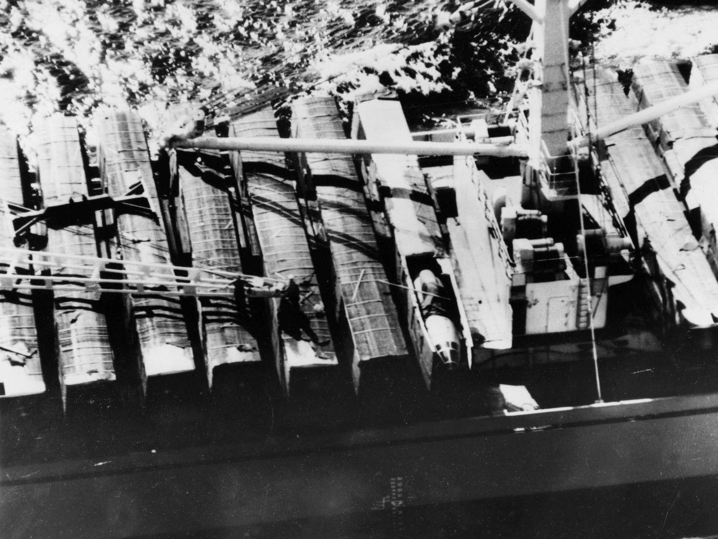 След заповед на Хрушчов, ракетите са отнесени обратно