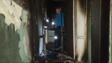 Подпалиха апартамент и кола на съдебна служителка и полицай