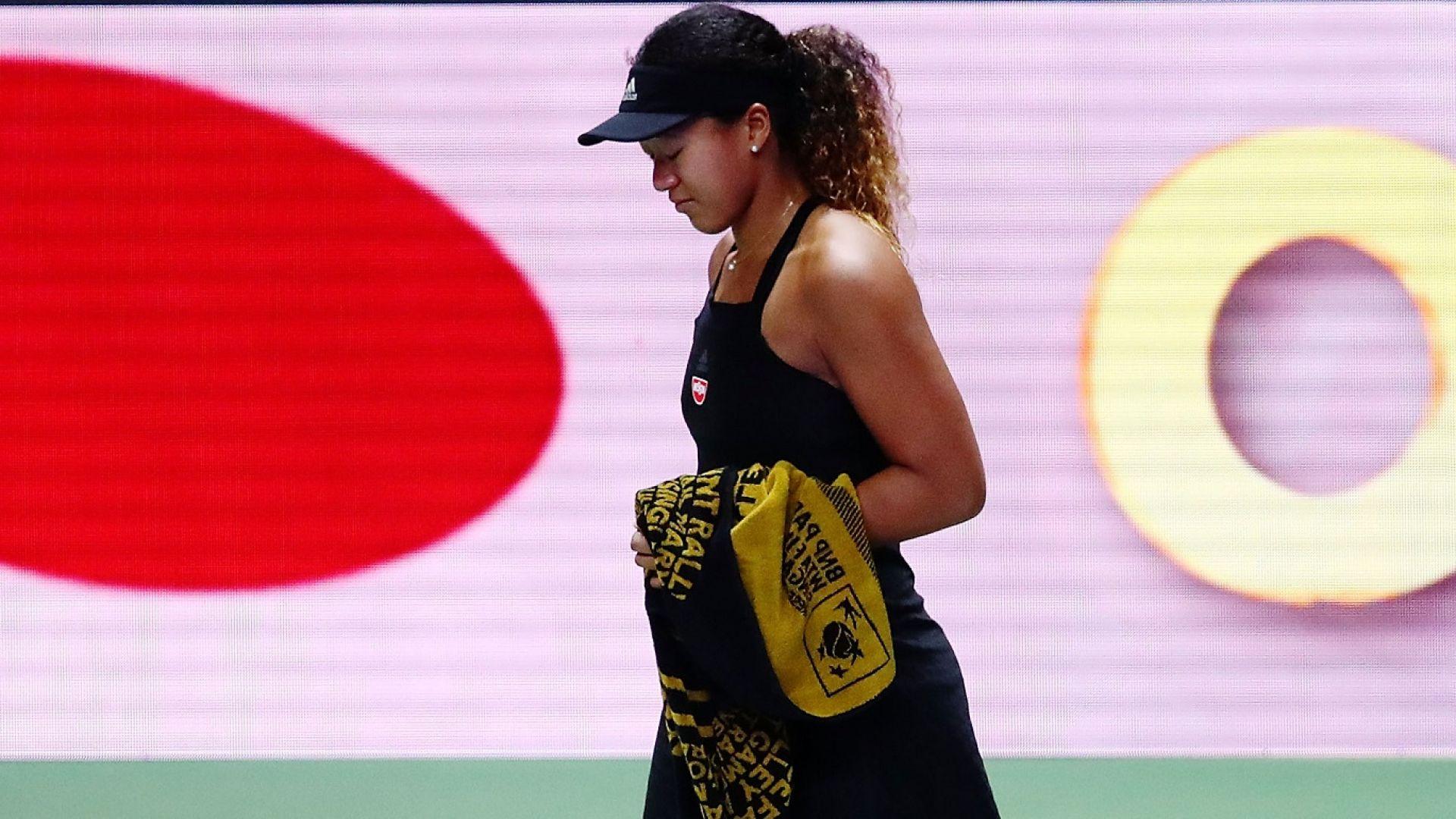 Наоми Осака пак проплака