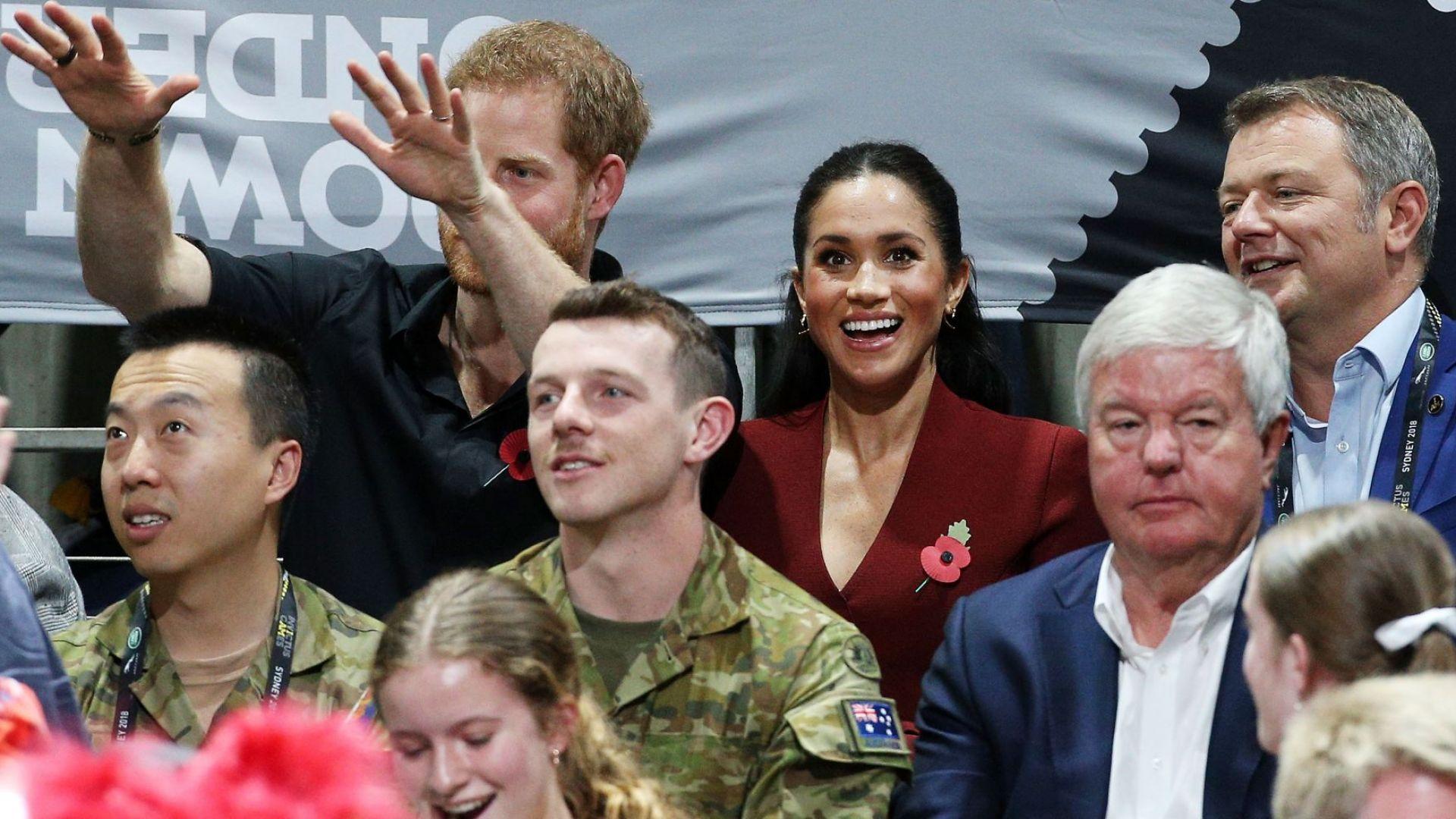 Принц Хари и Меган отказаха място в ложите, за да седнат сред феновете