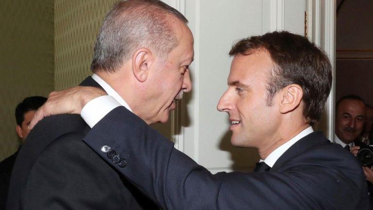 Президентът Реджеп Тайип Ердоган заяви, че френският му колега Еманюел