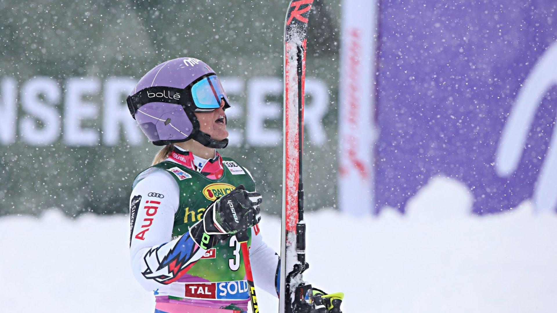 Французойка взе първото състезание в алпийските ски