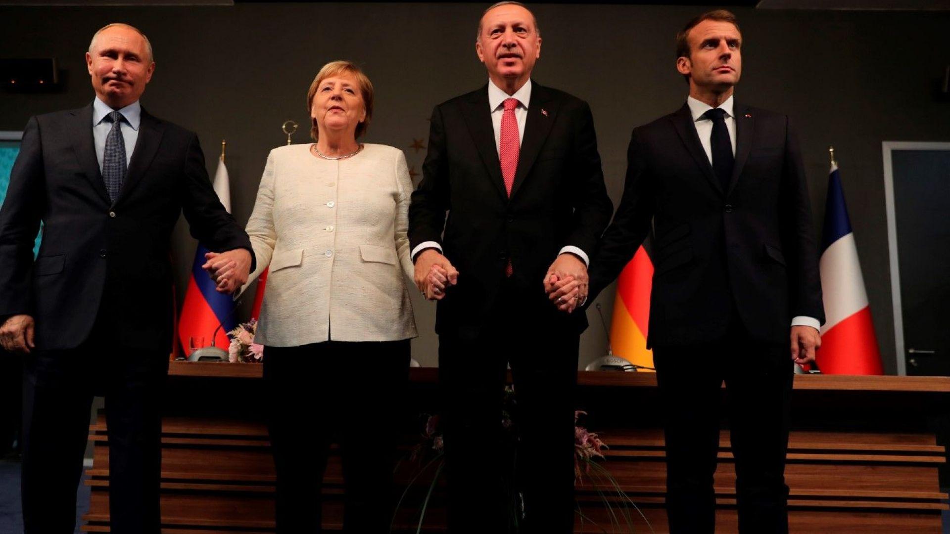 След срещата Ердоган-Путин-Меркел-Макрон: Нова конституция на Сирия