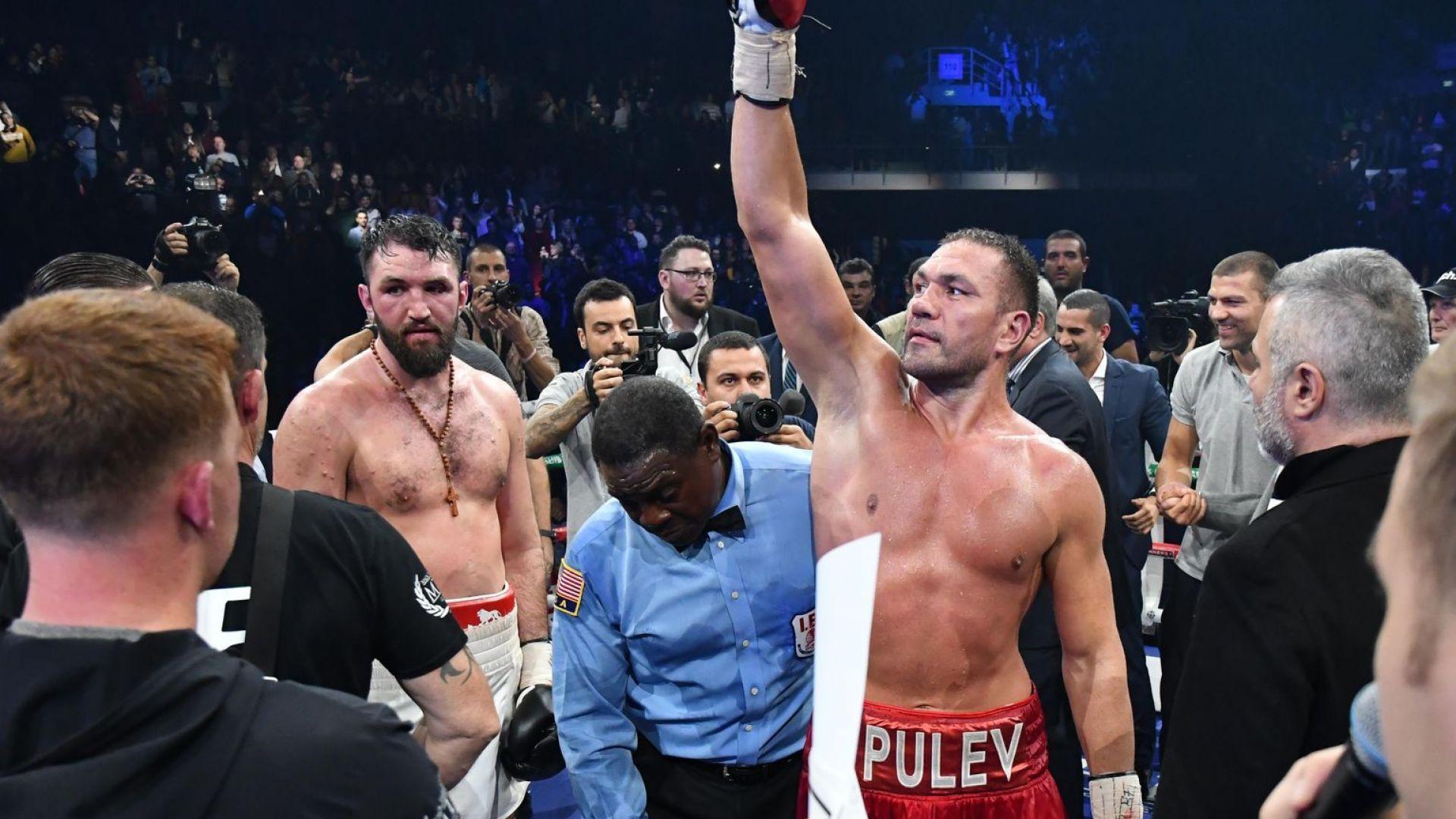 Кубрат Пулев с мач в САЩ през април