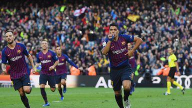Барса разгроми Реал с 5:1, Суарес е големият герой