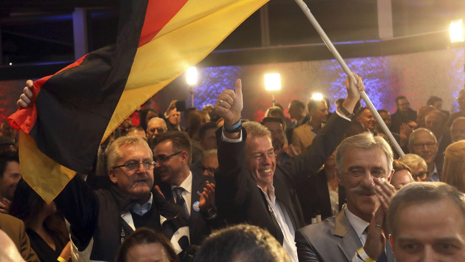 Пирова победа за Меркел в Хесен, ХДС губи 10% от гласовете си
