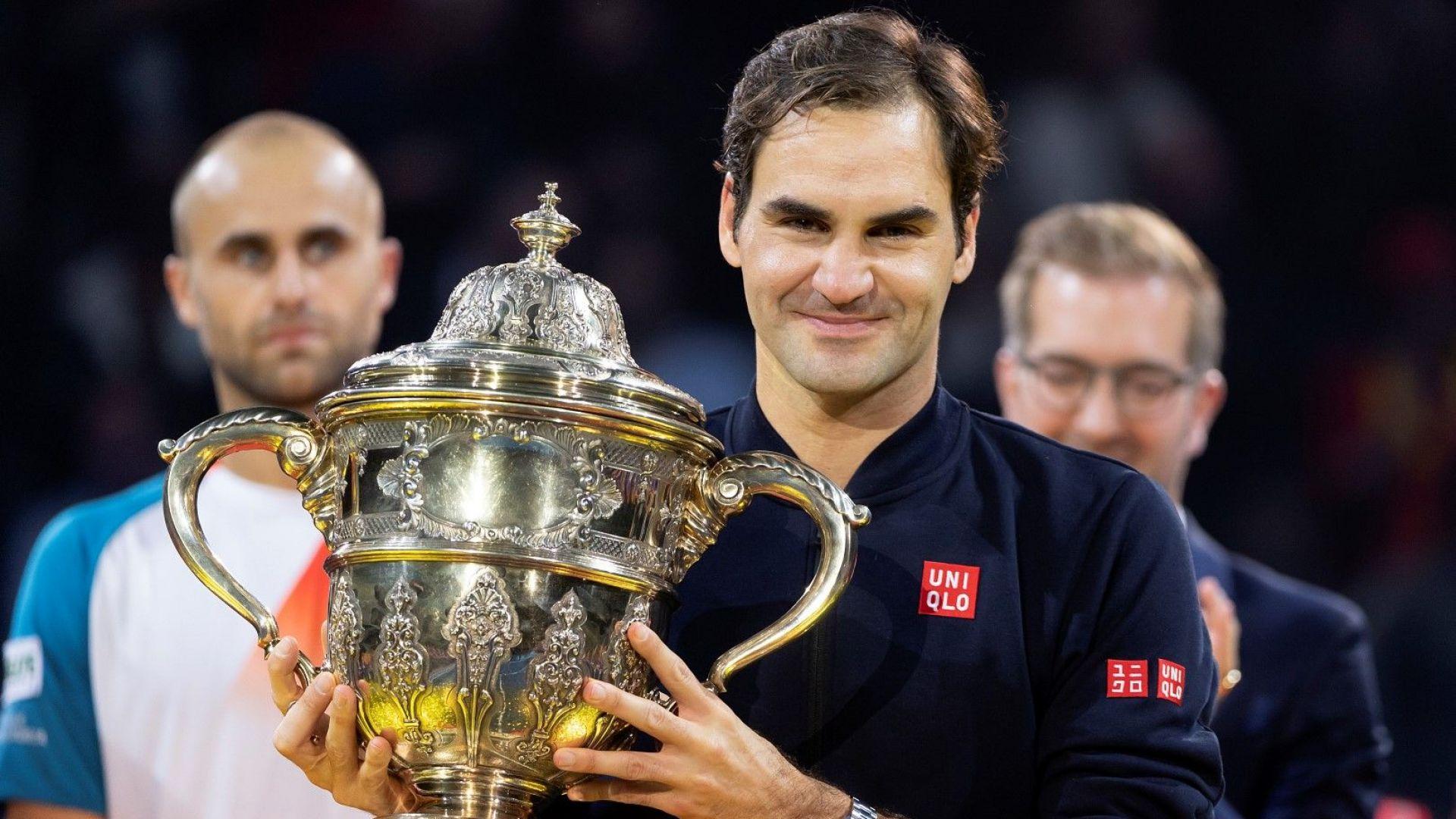 99 пъти Федерер с нов рекорд за историята