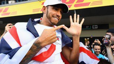 """Хамилтън заговори за рекорди на Шуми и може ли да кара за """"Ферари"""""""