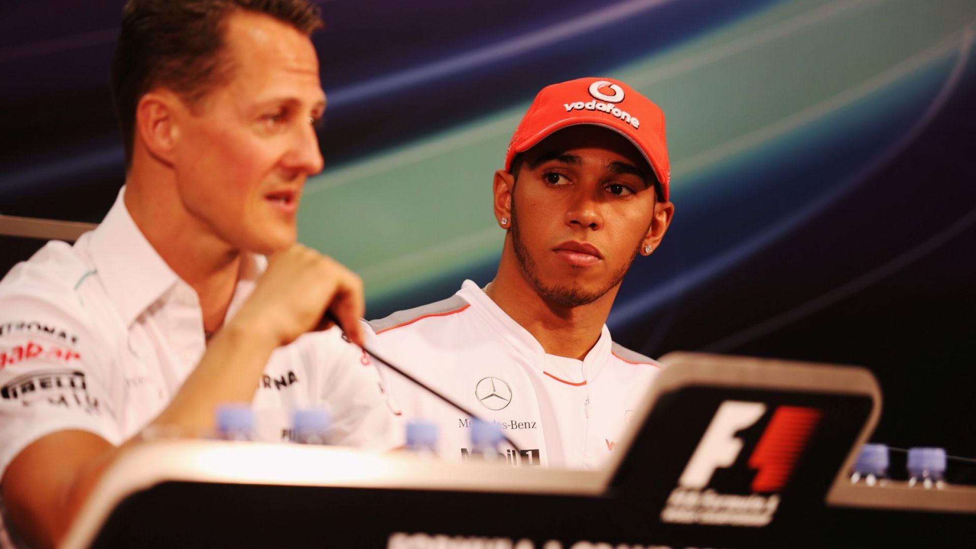 Шефът на Формула 1 направи смело сравнение между Хамилтън и Шумахер
