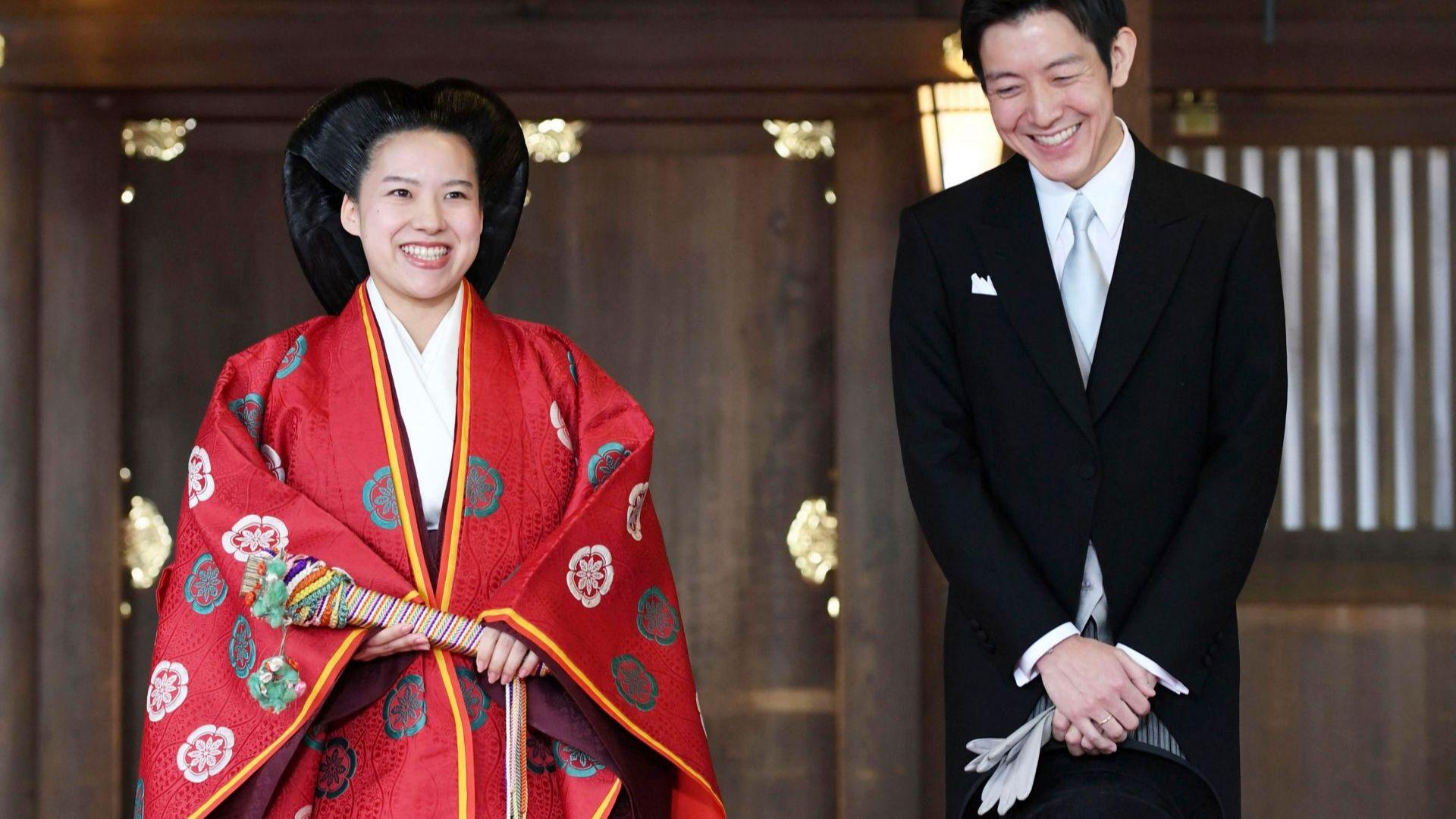 Японската принцеса Аяко се омъжи, изгуби титлата си (галерия)