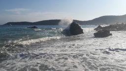 Седемметрови вълни по Адриатическия бряг