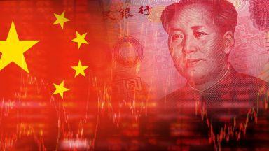 Рекорден спад на курса на китайската валута