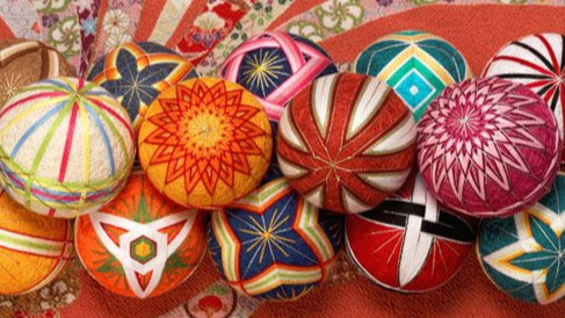 Във Варна представят традиционни японски декоративни топки