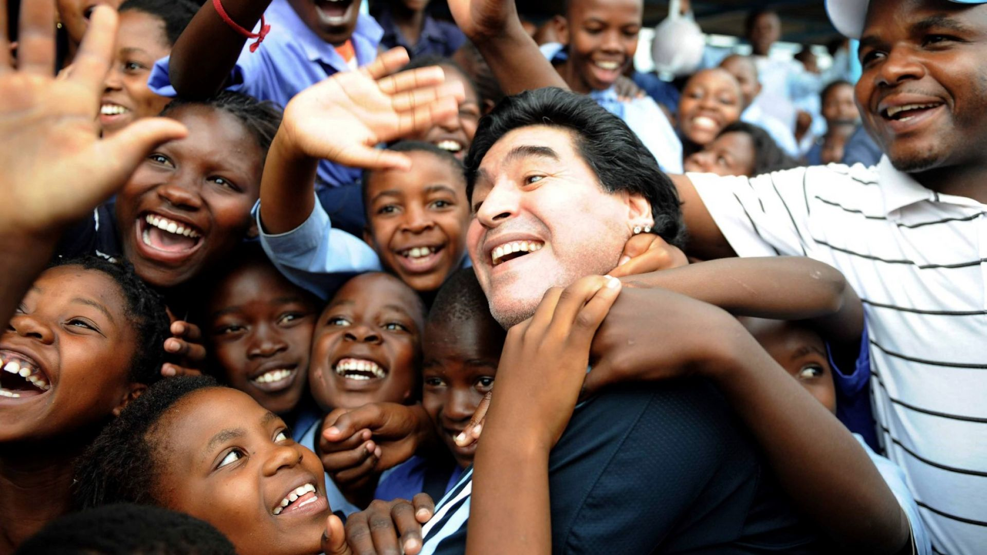 Марадона призна бащинство на три кубински деца, вече е татко на 8