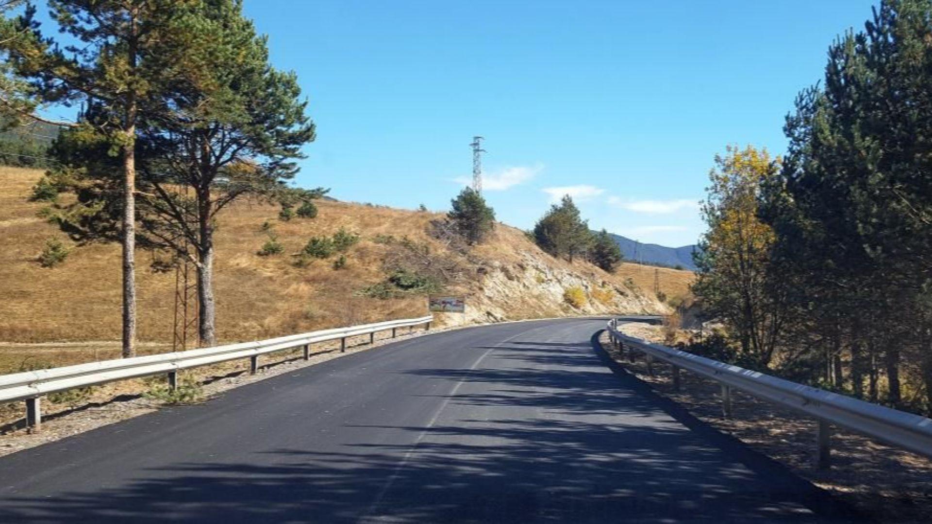Приключва ремонтът на пътя Доспат-Сърница